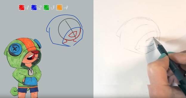 Леон карандашом 3