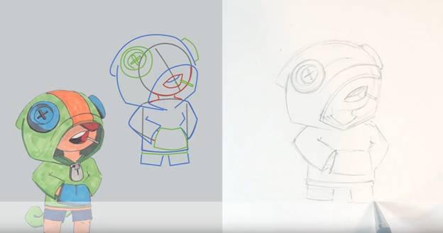 Леон карандашом 7
