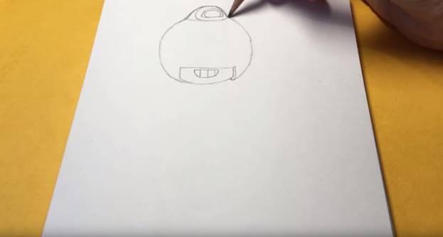 Макс из бравл старс карандашом 3