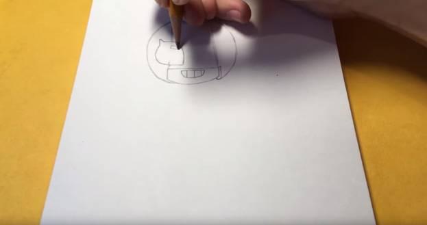 Макс из бравл старс карандашом 4