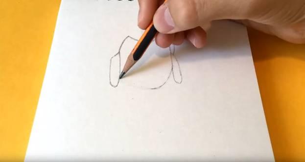 Шелли из Brawl Stars карандашом 1