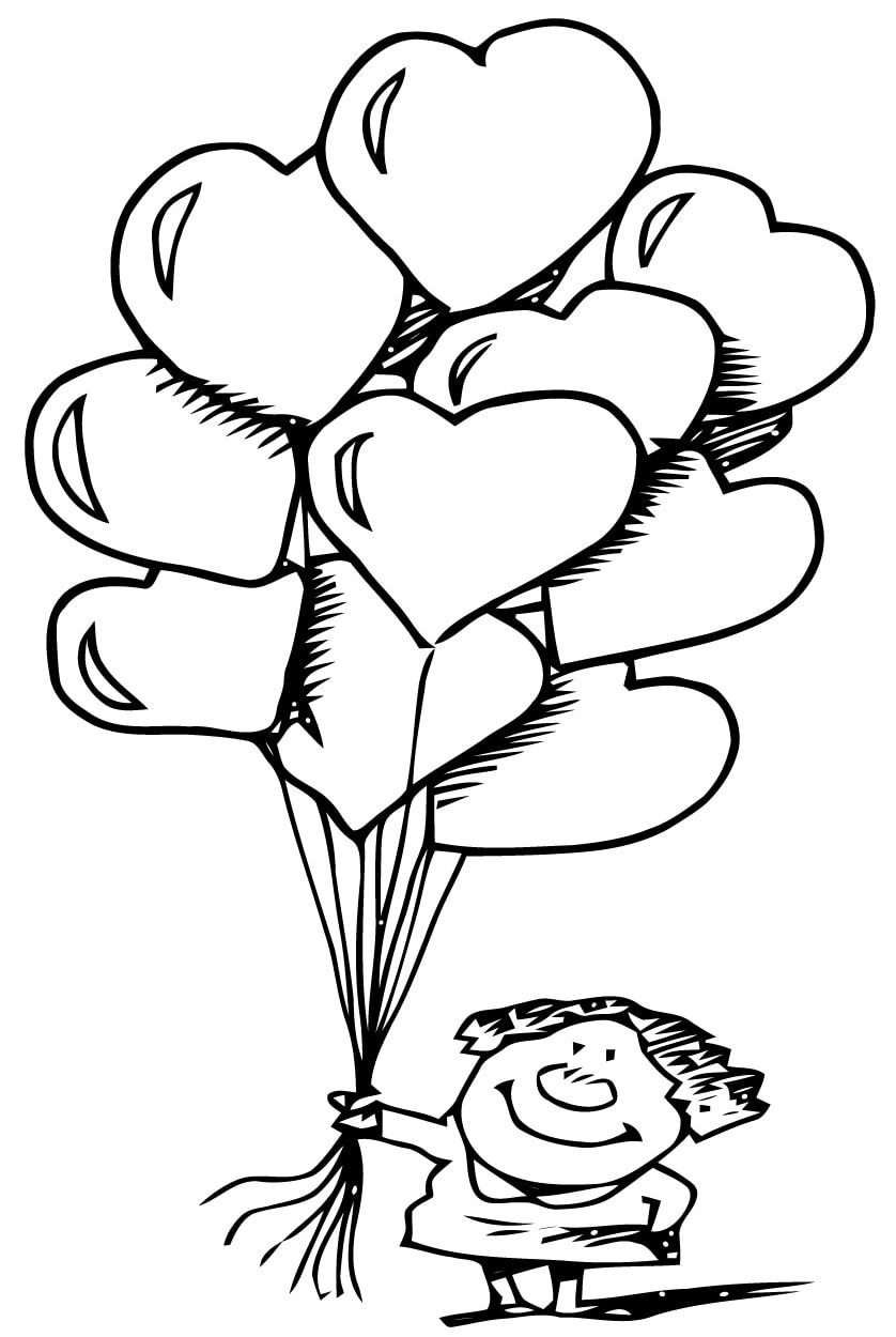 Нарисованные картинки к дню святого валентина