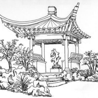 drawn-garden-japanese-pagoda-371032-4098607-min