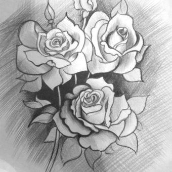 Фото-рисунки-цветов-карандашом-букеты-цветов-012-min
