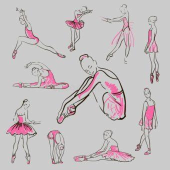vector-sketch-girl-s-ballerinas-set-standing-pose-42971396-min