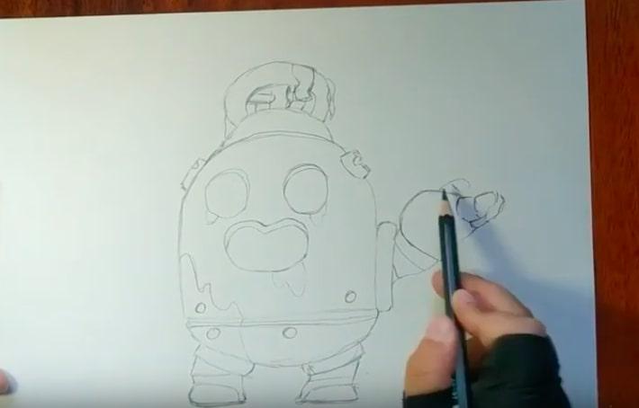 Робоспайк карандашом 2