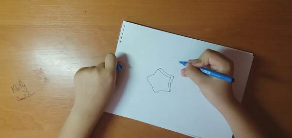 Сэнди из Brawl Stars карандаш 1