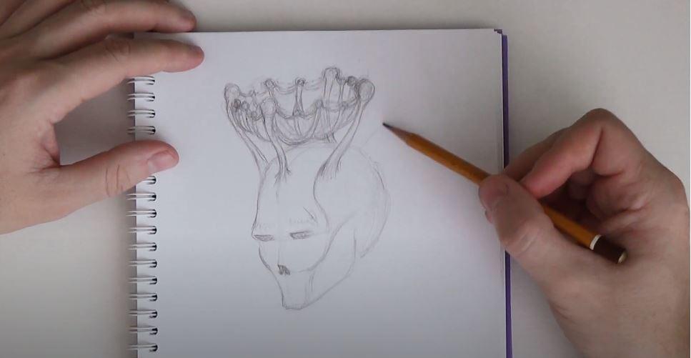 Коронавирус в виде человека 3