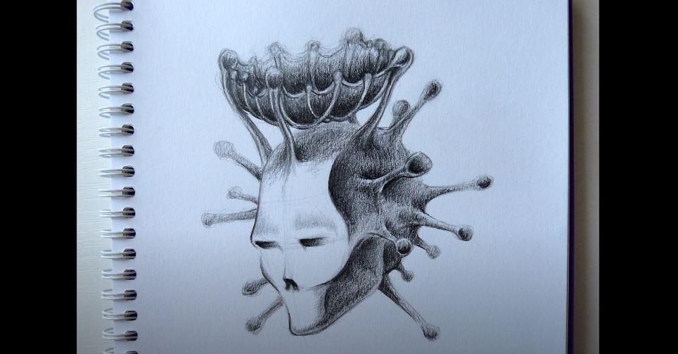 Коронавирус в виде человека 9